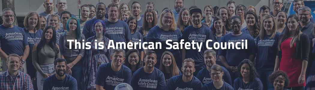 American Safety Council New Vision New Leader New Logo